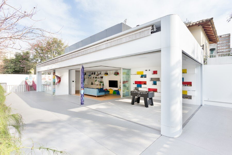 Toy House Was Conceived as a Huge Playground for a Growing Family (21)
