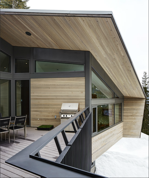 Whistler House Designed with a Modern and Enigmatic Facade (3)