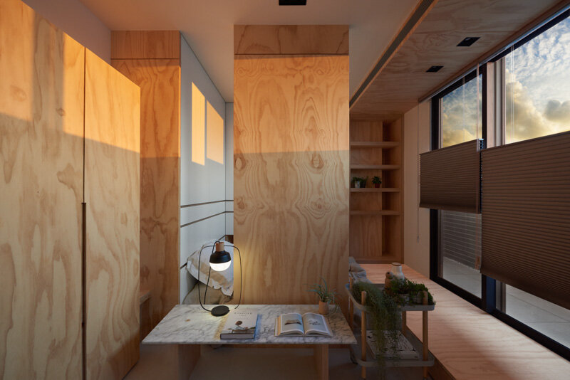 33 Square Meters Compact House with Innovative Vertical Architecture and Natural Decor (21)