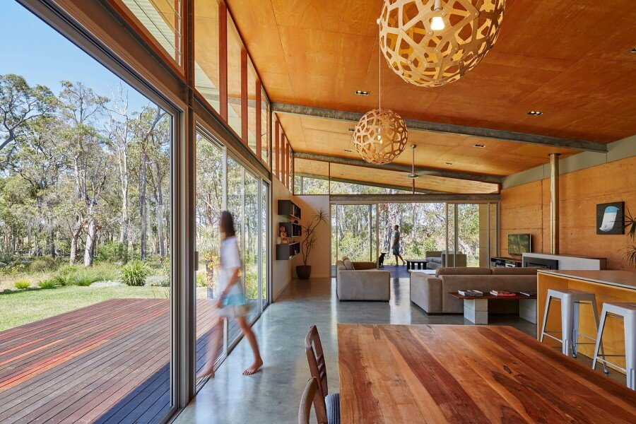 Bush House is Inspired by the Feelings of Camping