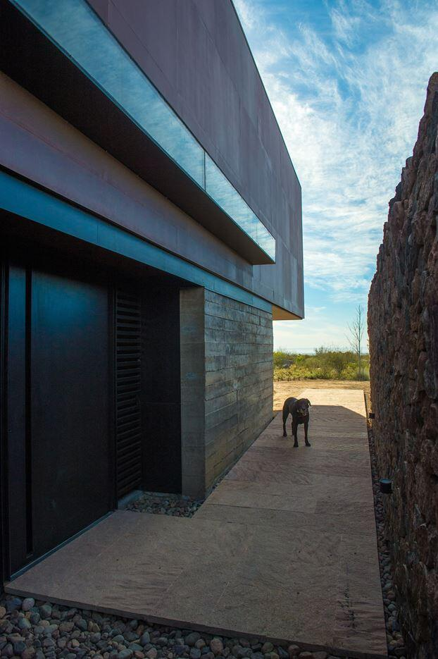 Evans House integrated into the Argentine vineyards landscape (17)