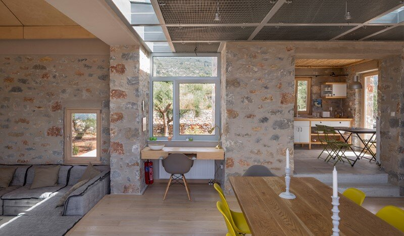 Greek Villa Elements of the Historic Houses into a Modern Context (8)