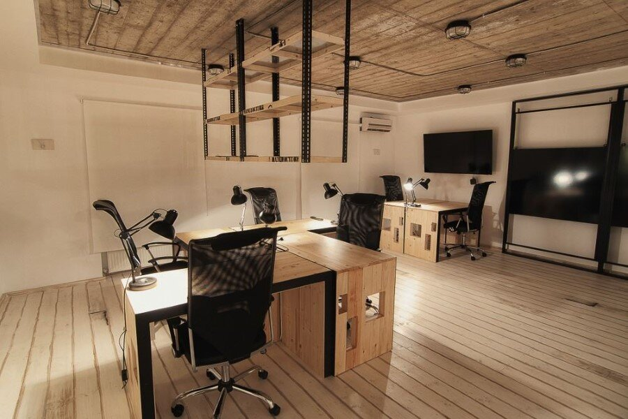 IT Office industrial style interiors designed by Ezzo Design (13)