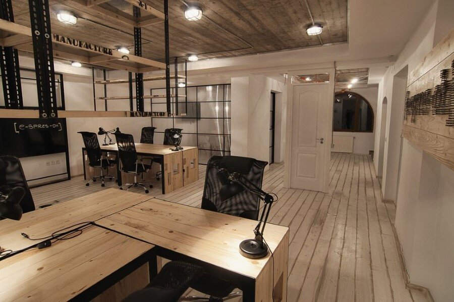 IT Office industrial style interiors designed by Ezzo Design (14)