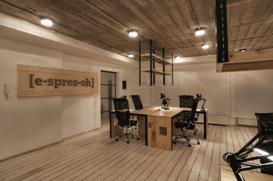 IT Office industrial style interiors designed by Ezzo Design (9)