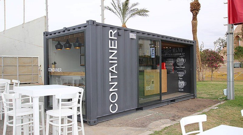 Mobile Coffee Shop Built in Five Weeks for a Design Competition (1)