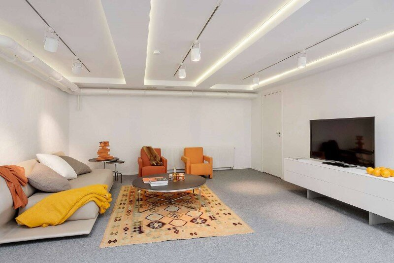 Stockholm Loft Apartment  Clean Design and Industrial Feeling by Beatriz Pons (2)