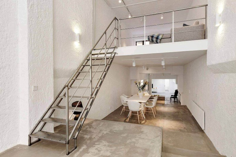 Stockholm Loft Apartment Clean Design and Industrial Feeling by Beatriz Pons (4)