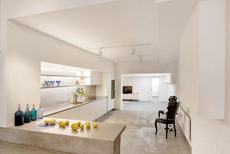 Stockholm Loft Apartment  Clean Design and Industrial Feeling by Beatriz Pons (9)