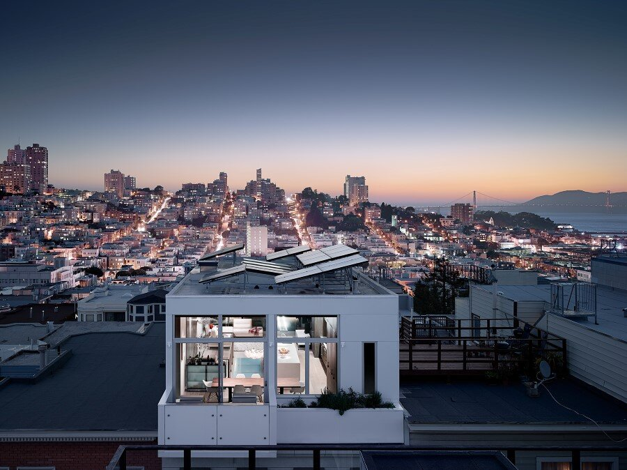 Telegraph Hill House Offers Stunning Views of San Francisco (1)
