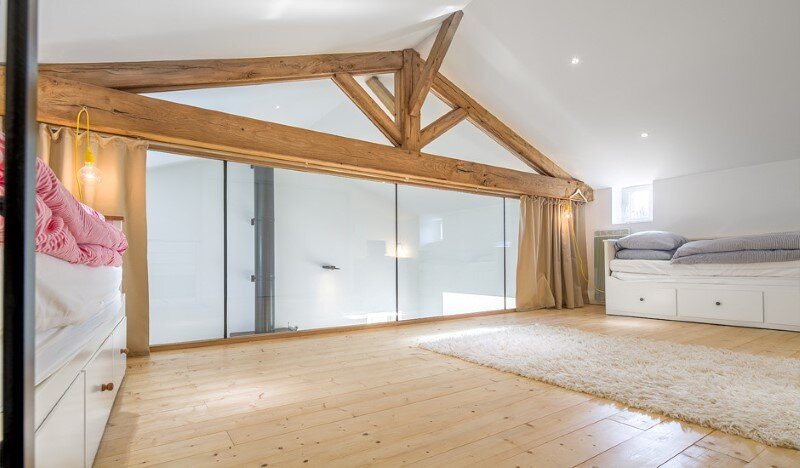 Chalet Concept 16th Century Stone Cottage Renovated by DGA-Architectes (5)