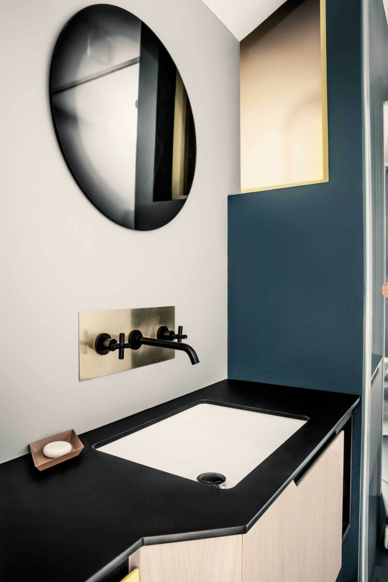 French Metal Rack Renovation of Family Apartment in Paris (13)