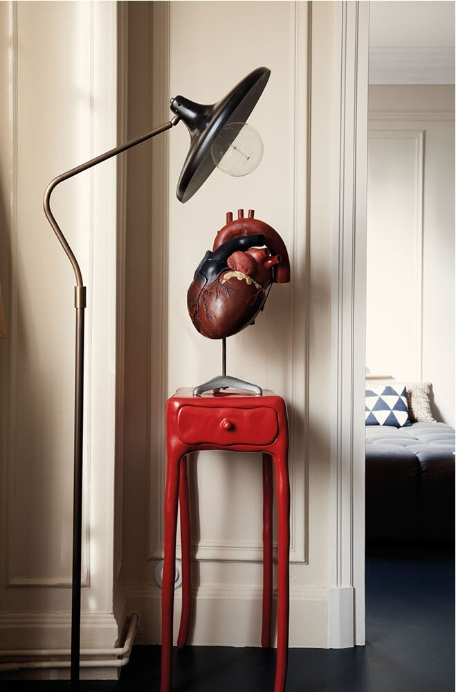 French Metal Rack Renovation of Family Apartment in Paris (7)