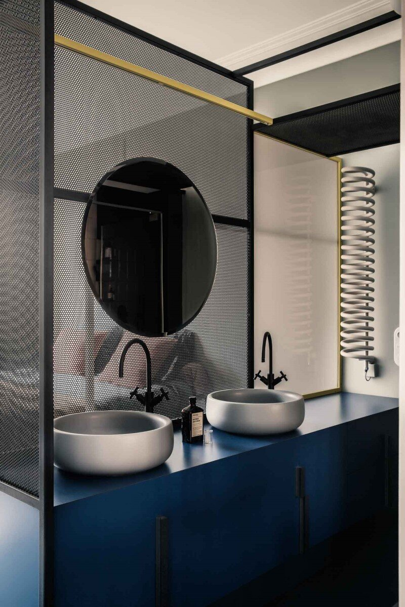 French Metal Rack Renovation of Family Apartment in Paris (8)