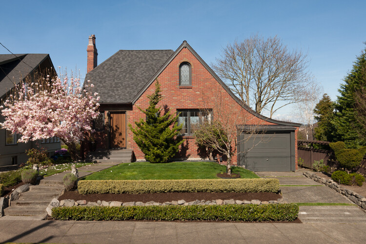 Janus Residence 1930 Brick Tudor Transformed in a House with Two Faces (6)