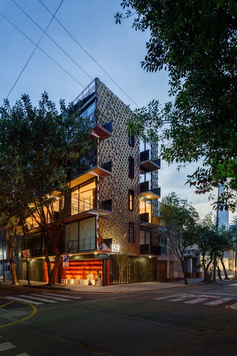 Just BE Apartments Designed with Two Very Different Façades (11)