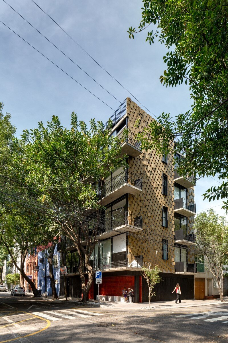 Just BE Apartments Designed with Two Very Different Façades (6)