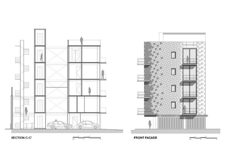 Just BE Apartments Designed with Two Very Different Façades (9)