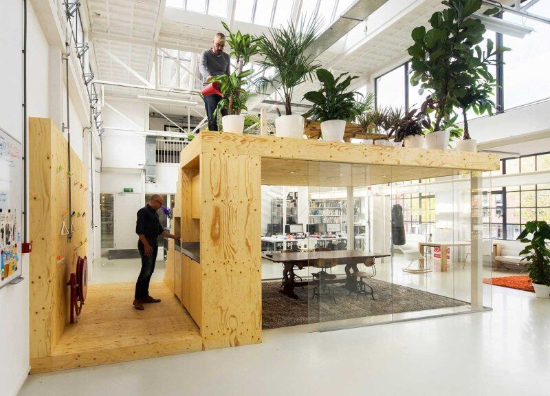 Loft Office for Architecture in Rotterdam (6)