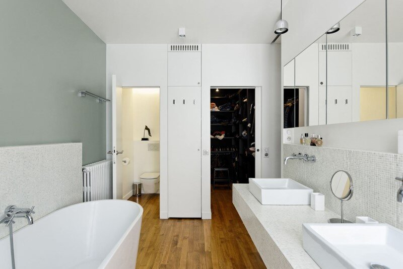 Maisonette Apartment by Ulli Heckmann and Eitan Hammer Paris (10)