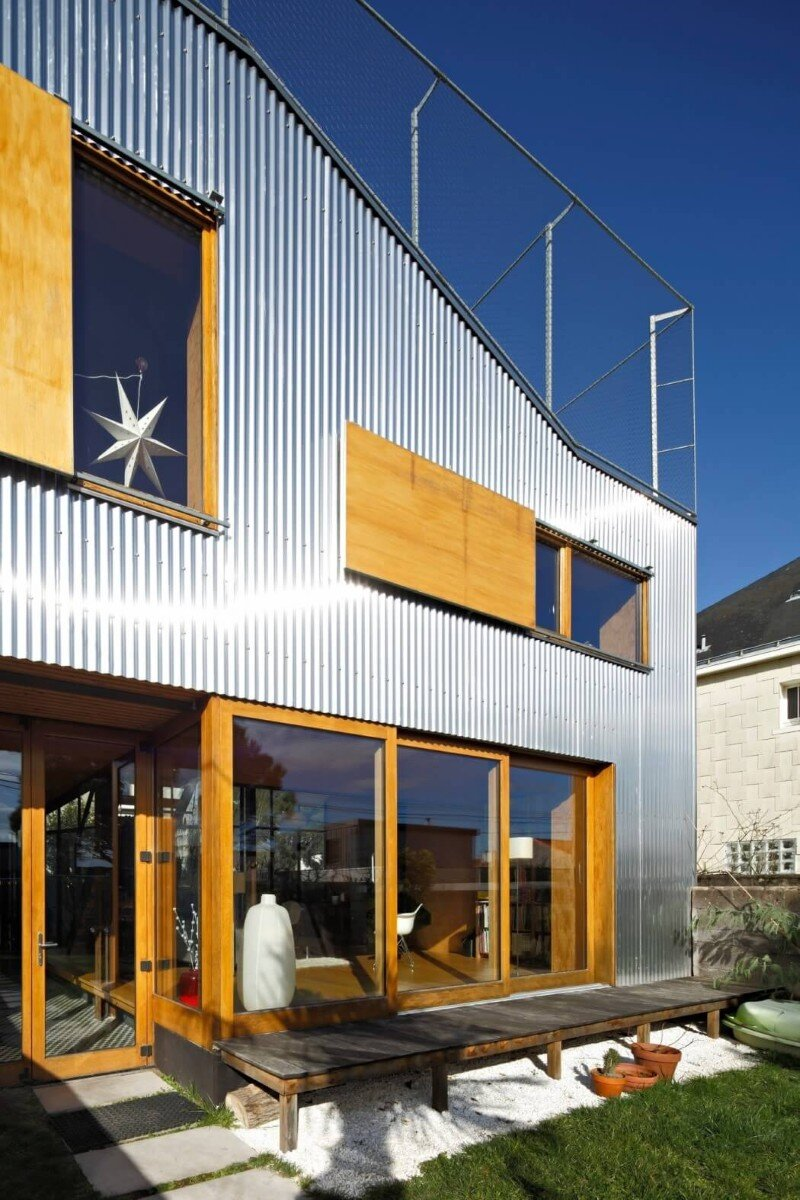 Rehabilitation and Extension of Single-Family Homes in Nantes (3)