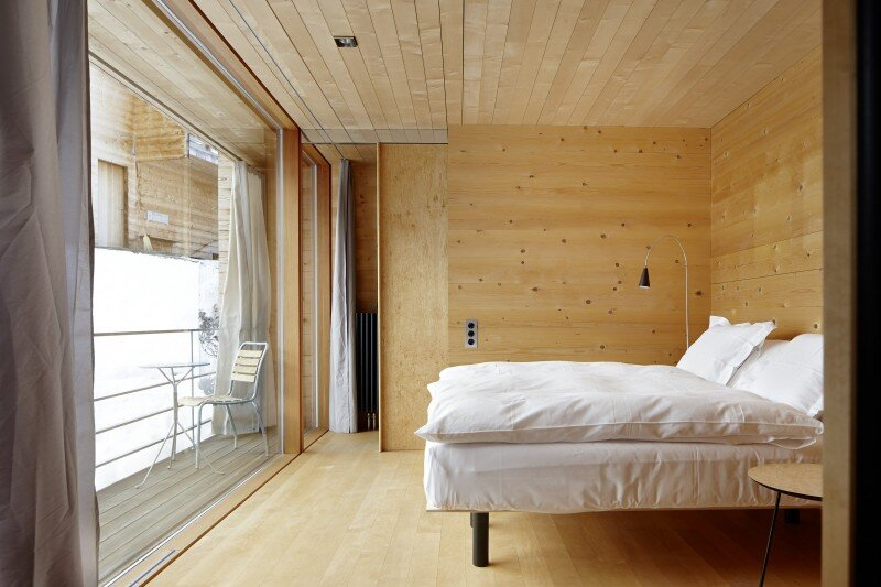 Wooden Houses Designed with Large Pictures Windows (15)