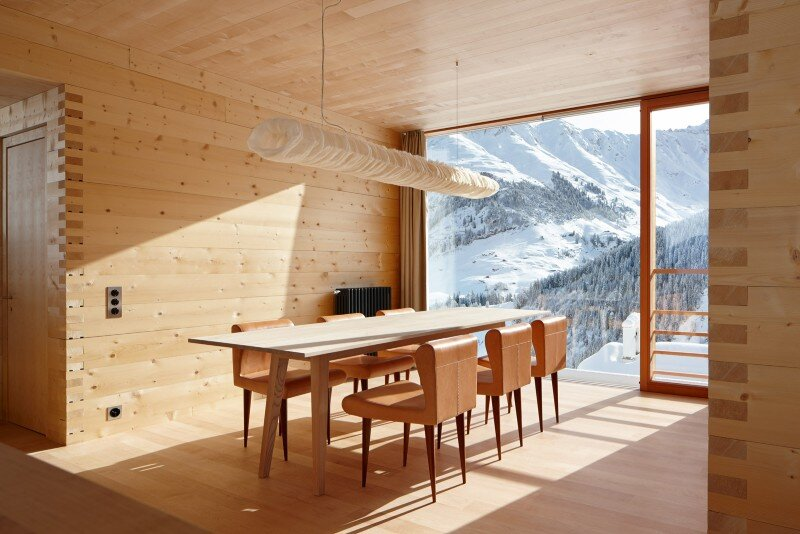 Wooden Houses Designed with Large Pictures Windows (4)