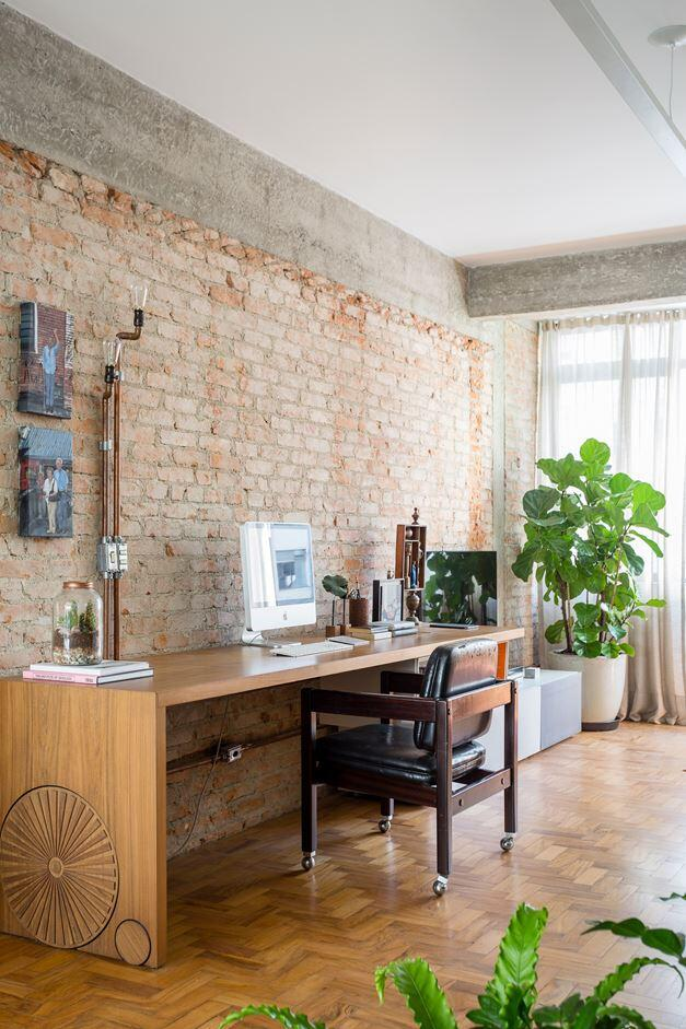 Stylish Brazilian Flat Displaying an Inspiring Eclectic Design (9)