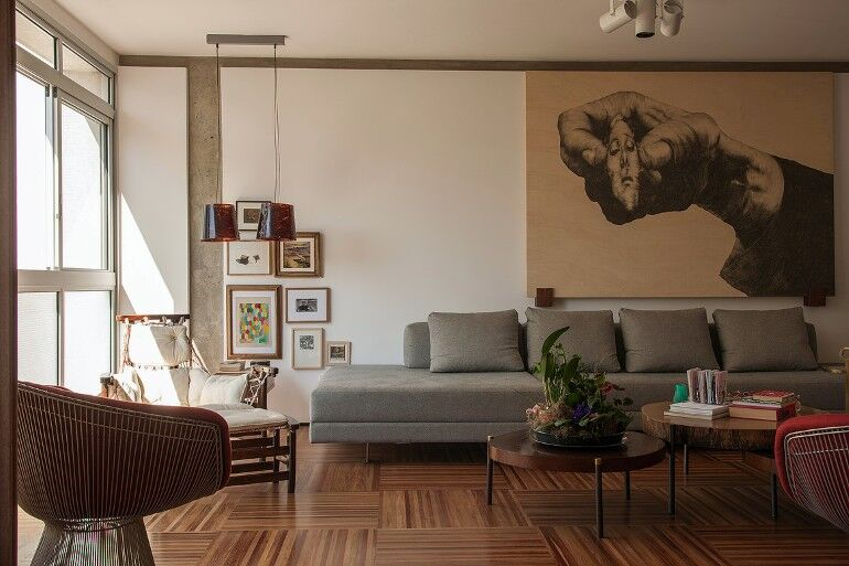 Urimonduba Apartment is a Mix of Genres and Styles (11)