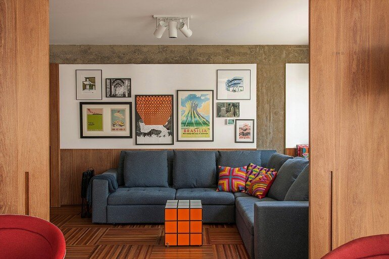 Urimonduba Apartment is a Mix of Genres and Styles (3)