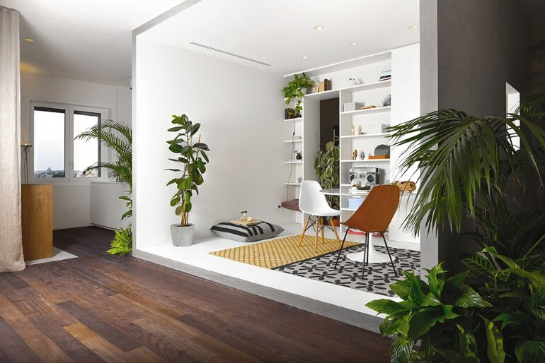Brazilian Taste - Office Turned into a Fresh and Elegant Living Space (1)