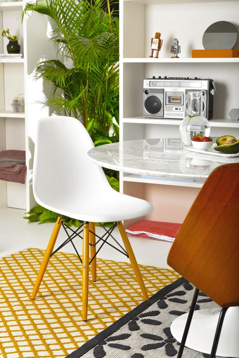 Brazilian Taste - Office Turned into a Fresh and Elegant Living Space (5)