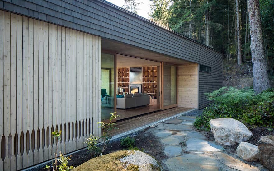 Lone Madrone is a Retreat Home Nestled in a Superb Landscape
