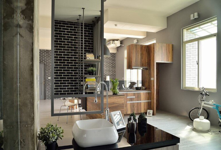 Feast in Green - Functionality And Warmth In a One-Storey Home (2)