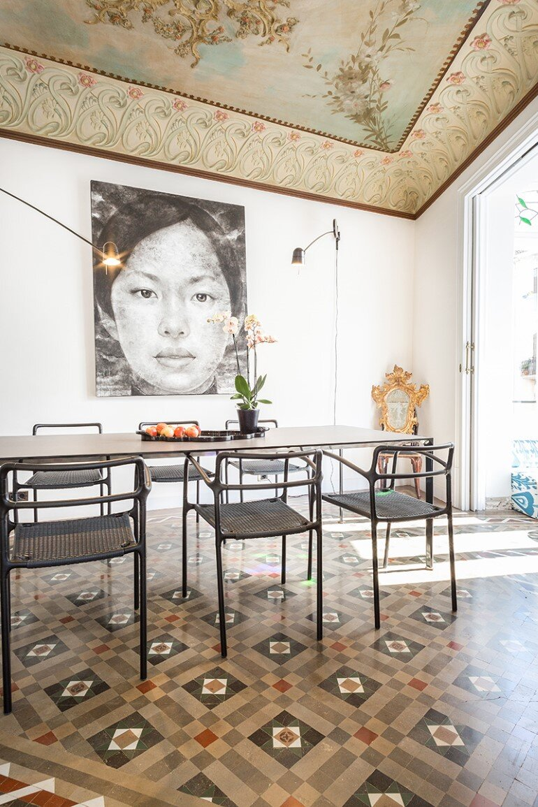 Flat in Eixample - Exotic Balance of Style (10)