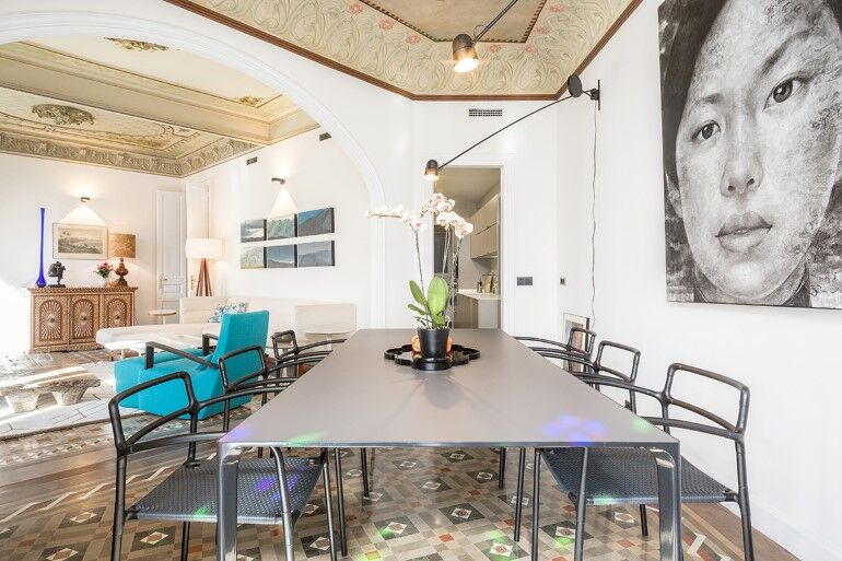 Flat in Eixample - Exotic Balance of Style (16)