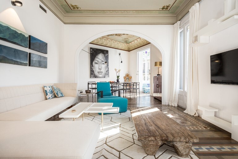 Flat in Eixample - Exotic Balance of Style (3)