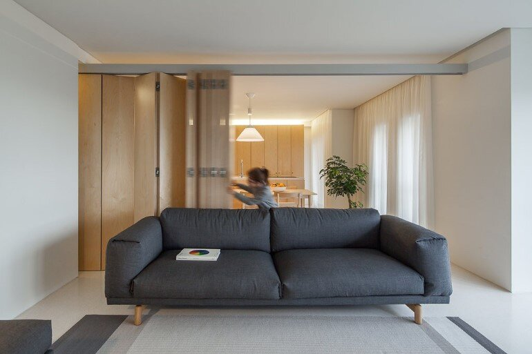 Forte Apartment was Turned to the Light by Merooficina (2)