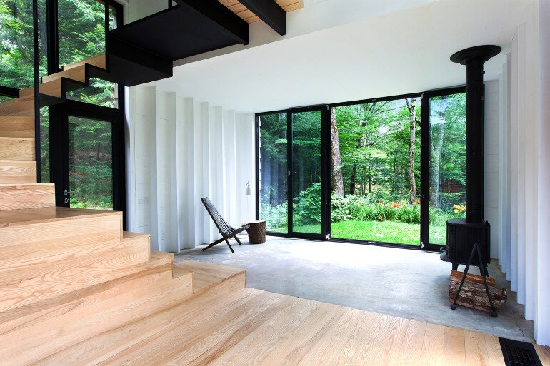 La Colombière Is A Refuge Perched In The Forest Reminding Us Of Bird Huts (2)