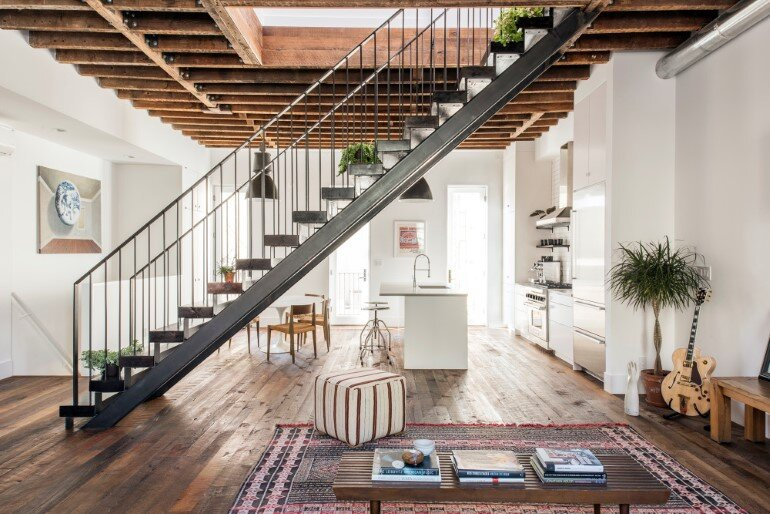 Lorimer Street Townhouse - Loft Home for a Family of Four (1)