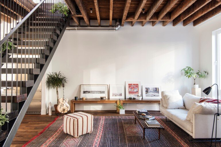 Lorimer Street Townhouse - Loft Home for a Family of Four (2)