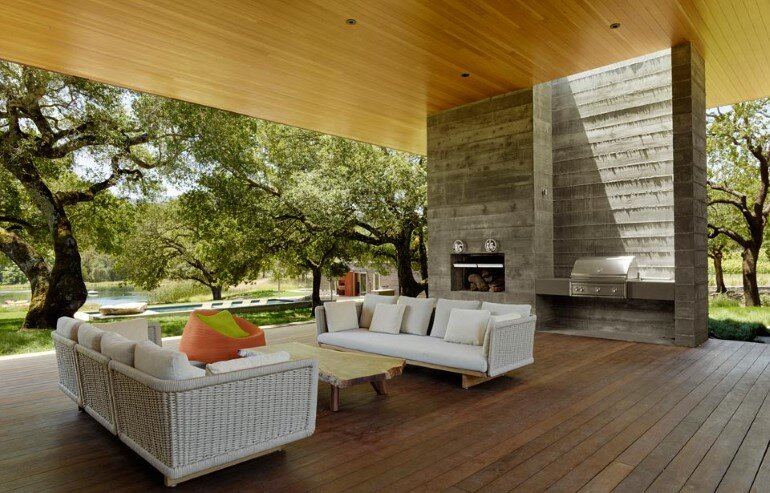 Net-Zero House Designed for OutdoorIndoor Summer Living - Sonoma Residence (4)