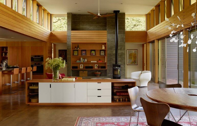 Net-Zero House Designed for OutdoorIndoor Summer Living - Sonoma Residence (6)