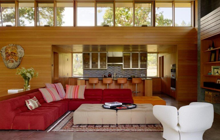 Net-Zero House Designed for OutdoorIndoor Summer Living - Sonoma Residence (7)
