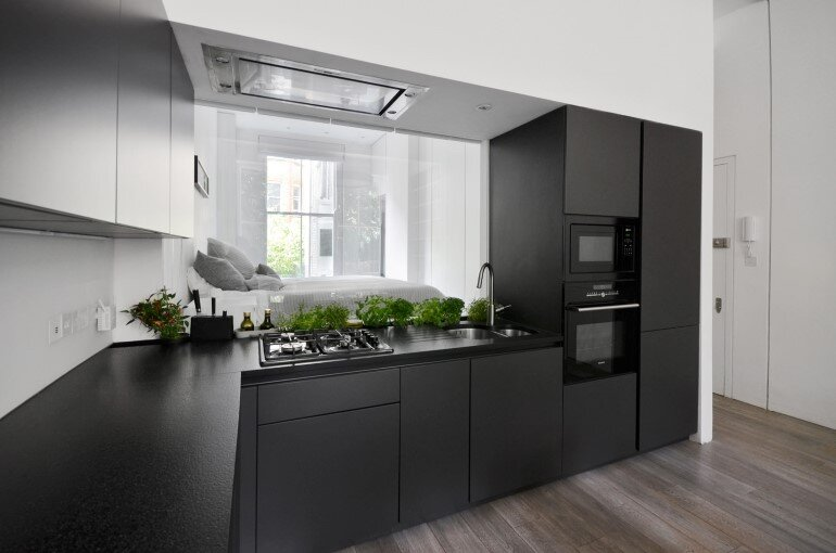 Nevern Square Apartment Has a Highly Optimized and Bespoke Design (4)