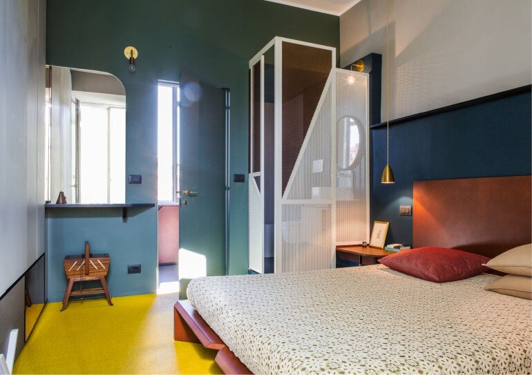 Promenade Apartment - Yellow and Gray Colors Give a True Retro Touch (4)