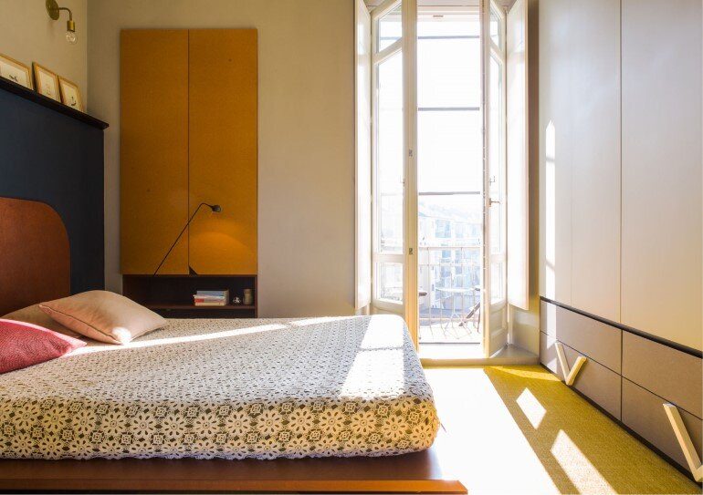 Promenade Apartment - Yellow and Gray Colors Give a True Retro Touch (7)
