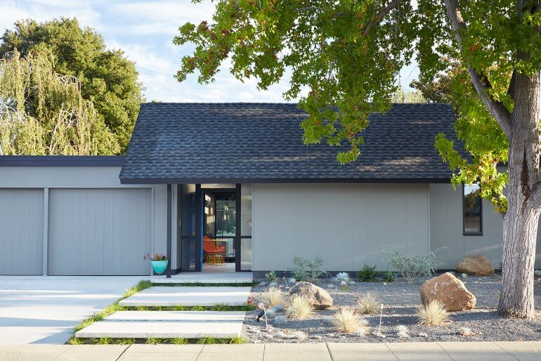 Renewed Classic Eichler Home in Silicon Valley by Klopf Architecture (1)