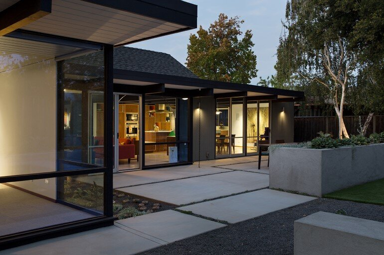 Renewed Classic Eichler Home in Silicon Valley by Klopf Architecture (7)