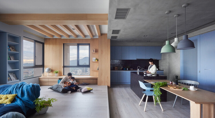 This Family Apartment is A Boundless Space of Joy and Delectable Delights (1)